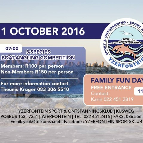 Family Fun Day & Boat Angling Competition