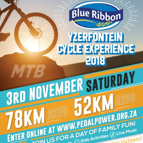 The Blue Ribbon Yzerfontein Cycle Experience 2018