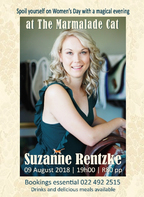 Suzanne Rentzke at The Marmalade Cat